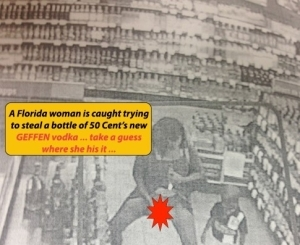 Single Mother Caught Hiding Alcohol (50 Cent